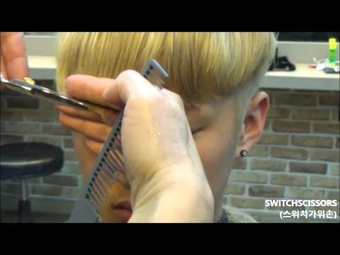 창원미용이용학원) 투블럭컷 하는법(How to do two-block haircut for men)