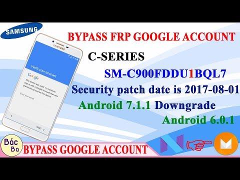 Remove Google Account Samsung C5,C7,C8,C9 7 0 FRP Lock Reset