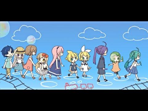 【ボカロ10人(10 Vocaloids)】このしあわせを(Kono Shiawasewo)【ふわりP(FuwariP)】