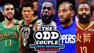 What's the Best Way For the NBA to Resume the Season? - The Odd Couple