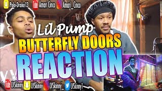 Lil Pump - Butterfly Doors(Reaction Video)