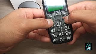Artfone C1+ Big Button Senior Mobile Phone (Review)