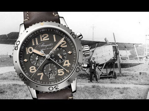 BETTER THAN A DAYTONA?: Breguet Type XXI 3817ST