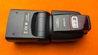 📸Посылка с AliExpress: Вспышка для фотоаппарата INSEESI IN560IV