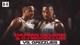 CJ and Dame Drop 62 In Blazers OT Win vs. Grizzlies