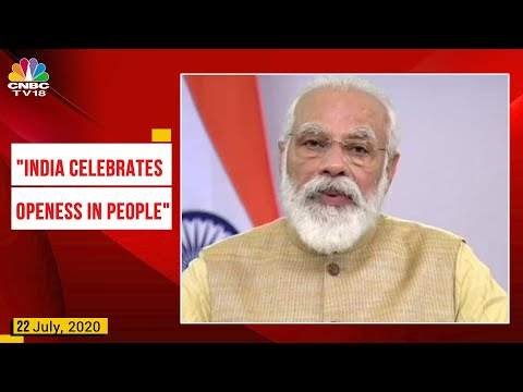 """PM Modi At USIBC Summit: """"There Is Global Optimism Towards India""""   CNBC-TV18"""