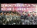 PESERTA 4KS! LEBIH DENGARKAN ARAHAN TNI SAAT DEM0 DI BAWASLU RI - PRABOWO - JOKOWI