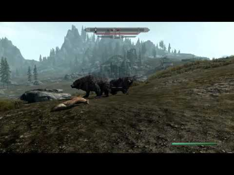 Skyrim Mod Makes Bears Less Scary And More Hilarious
