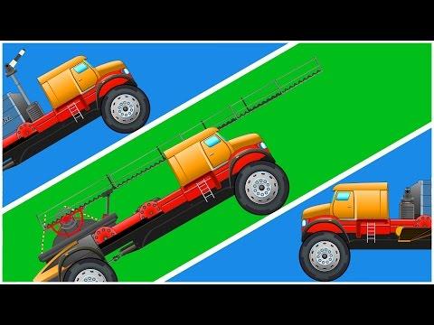 Transformex | Fire Truck | Ladder Truck | Air Tanker | kids videos