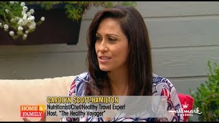 Save vs Splurge Travel Tips on Hallmark Home & Family with Carolyn Scott-Hamilton