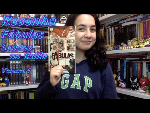 Resenha Fa?bulas Lendas no Exi?lio Volume 1 | Cultura & Próxima Leitura
