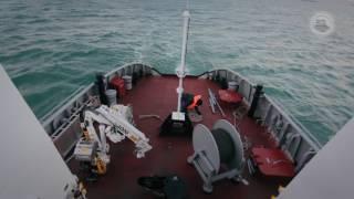 В Казахстане успешно завершены испытания первого казахстанского ледокола «Кажымукан»