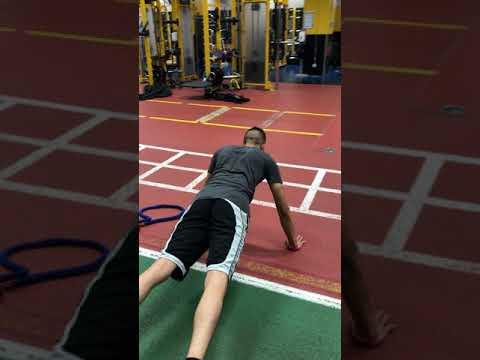 scapular push-up coaching cues