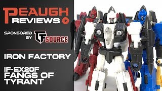 Video Review: Iron Factory IF-EX20F - Fangs Of Tyranny Set