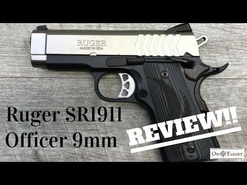 Ruger SR1911 9mm Review - смотреть онлайн на Hah Life