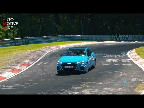 2021 Audi S3 Rocks Blue Paint and Quad Exhaust Ahead of ...