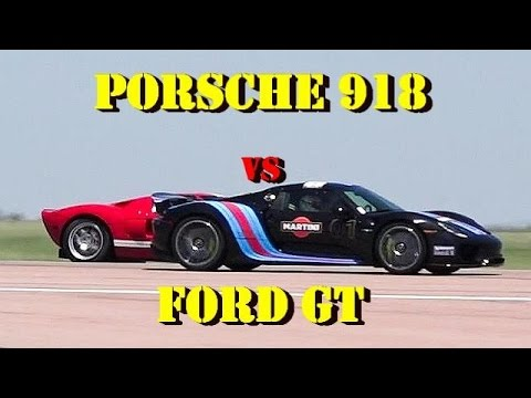 13 year old porsche 918 spyder driver drag races ford gt driven by his father autoevolution. Black Bedroom Furniture Sets. Home Design Ideas