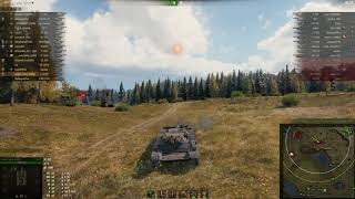 Т-100 ЛТ, Малиновка, Стандартный бой