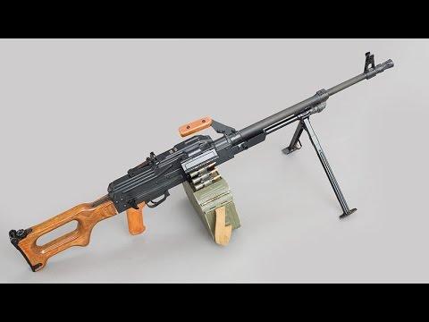 ПКМ (Пулемёт Калашникова модернизированный) видео