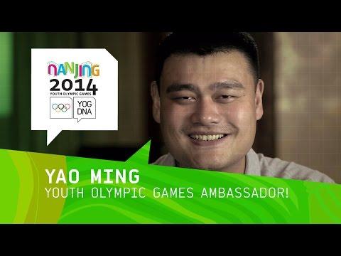 Yao Ming, el último embajador de los Olímpicos de la Juventud 2014