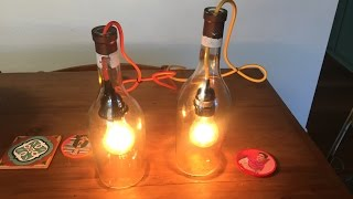 How To Make A Pendant Light From An Alcohol Bottle   Whiskey Pendant Light