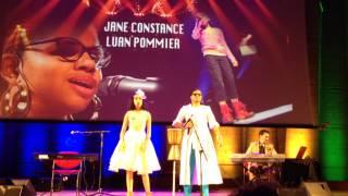 Jane Constance et Luan Pommier en concert à l'UNESCO - What a wonderful world
