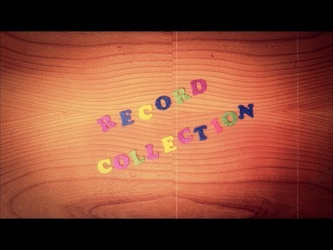 David Myhr - Record Collection video