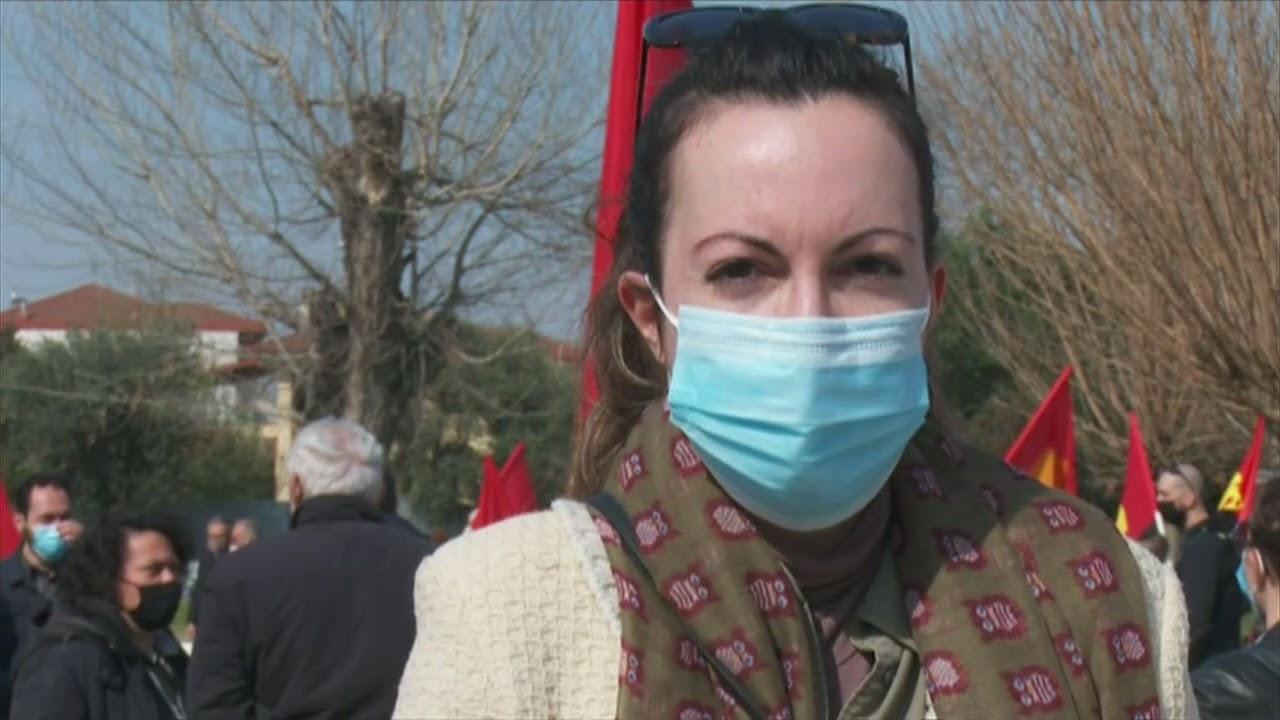 Συνεχίζονται οι αντιδράσεις για τα αποτεφρωτήρια αποβλήτων στη Σίνδο | 28/03/2021 | ΕΡΤ