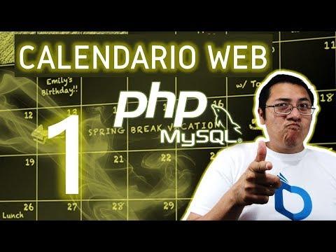 Calendario web con PHP y MySQL utilizando fullcalendar (Video 1 - Instalación)