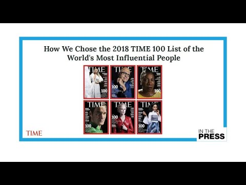 A reflection of our times: More women, more young people in Time's 100 list for 2018