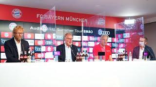 Möchten Nah Bei Unseren Fans Sein | Pressetalk Mit Rummenigge, Wacker & Wenders Zur #AudiFCBTour