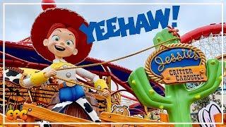 Jessie's Critter Carousel at Pixar Pier | Disney California Adventure