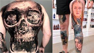 Best Tattoos In The World HD 2019 - Amazing Tattoo Design Ideas ( Part 9)