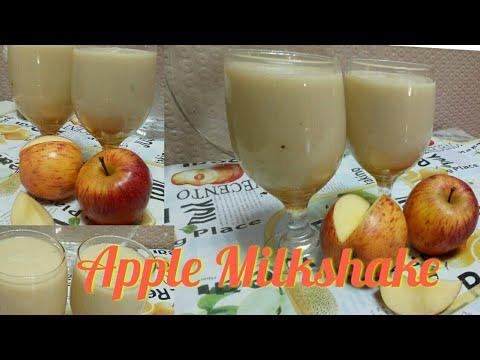 🍎 Apple milkshake/A variety taste off milkshake/A perfect apple drink🍹/so yummyyyy