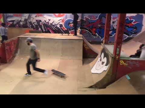 OLDEST INDOOR Skatepark in the WORLD! (4K)