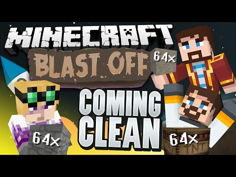 Minecraft Mods - Blast Off! #74 - COMING CLEAN