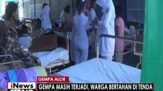 Gempa Susulan Masih Guncang Alor NTT Pasien Rumah Sakit Bertahan Di Tenda  INews Siang 18/04