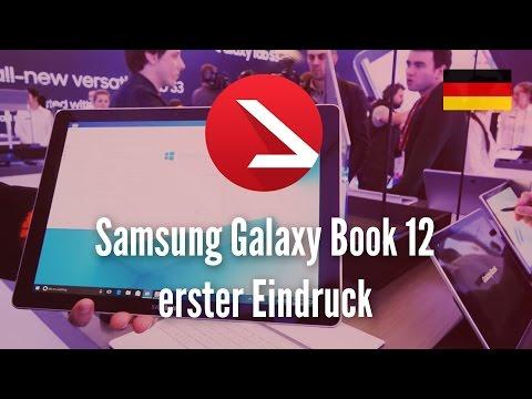 12 Zoll Windows Kreativ Tablet | Samsung Galaxy Book 12 erster Eindruck