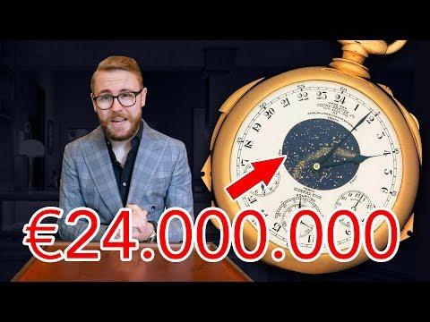 De 5 DUURSTE Patek Philippe horloges OOIT!