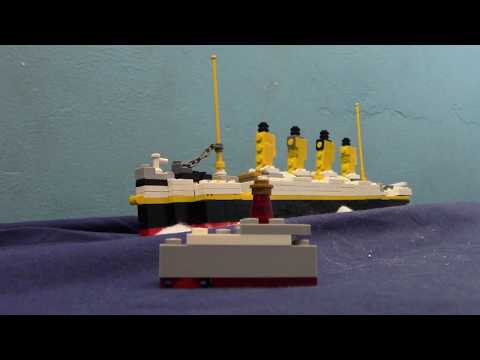 The lego titanic movie