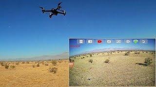 MJX Bugs 2W B2W Long Range Desert Flight Test Review