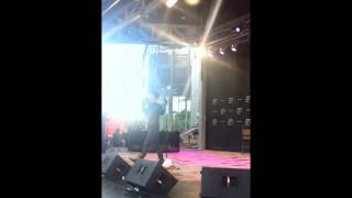Anthony Callea - Rain & Oh Oh Oh Oh - Live at Federation Square 01.12.2011