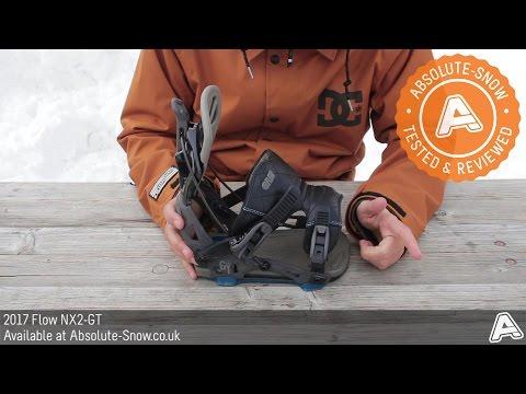 2016 / 2017 | Flow NX2 GT Snowboard Bindings | Video Review
