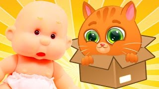 Мультик про котят Мой маленький котенок БУББУ Говорящий Bubbu My Little Kitten Игра для детей СПТВ