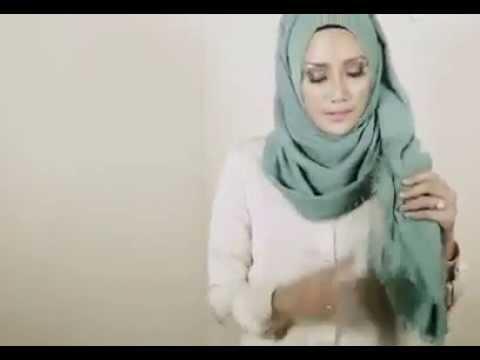 Video Tutorial Hijab Simple Tanpa Jarum Pentul