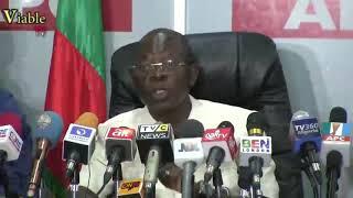 FULL VIDEO : Adams Oshiomhole's Response To Saraki's 'World Press Conference'