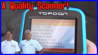Topdon OBD2 Scanner Review - This thing rocks