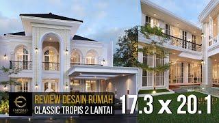 Video Desain Rumah Classic 2 Lantai Ibu Dian di  Tangerang Selatan, Banten