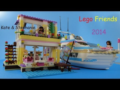 Vidéo LEGO Friends 41037 : La villa sur la plage