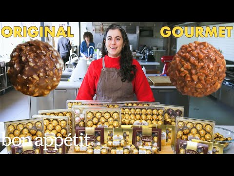 Pastry Chef Attempts To Make Ferrero Rocher